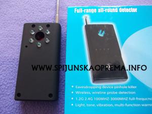 laser detektor pakovanje
